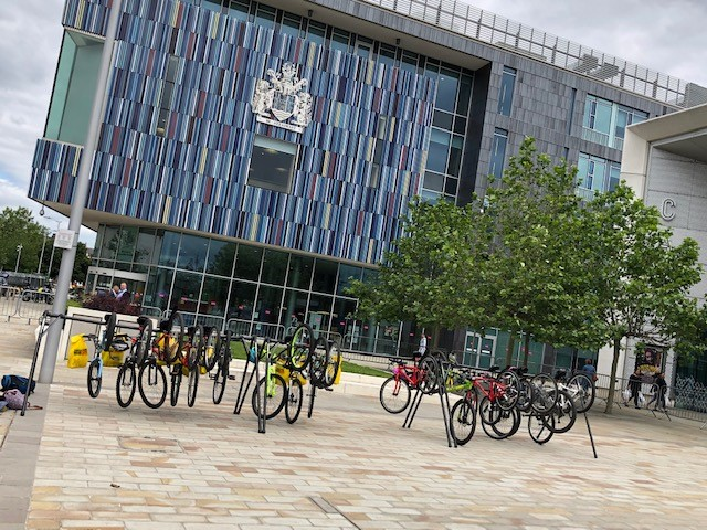 Doncaster Council Offices cycle racks
