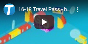 16-18 Travel Pass videos on YouTube
