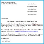 MegaTravel school letter for parents thumbnail