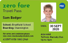 Zero Fare Pass sample