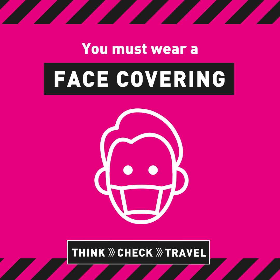 Face coverings on public transport