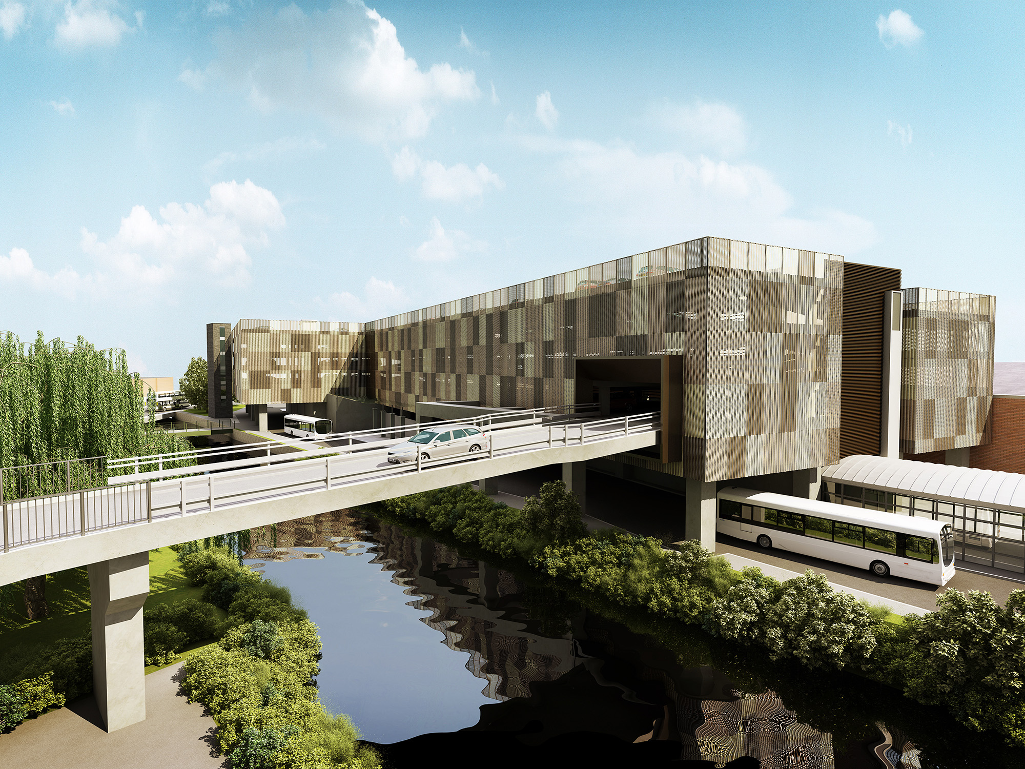 Rotherham Interchange proposal in daylight