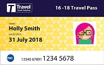 16-18 Travel Pass